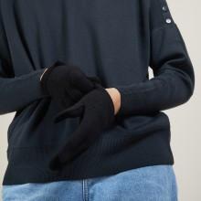 Gants en cachemire - Galene 7010 noir - 01 Noir