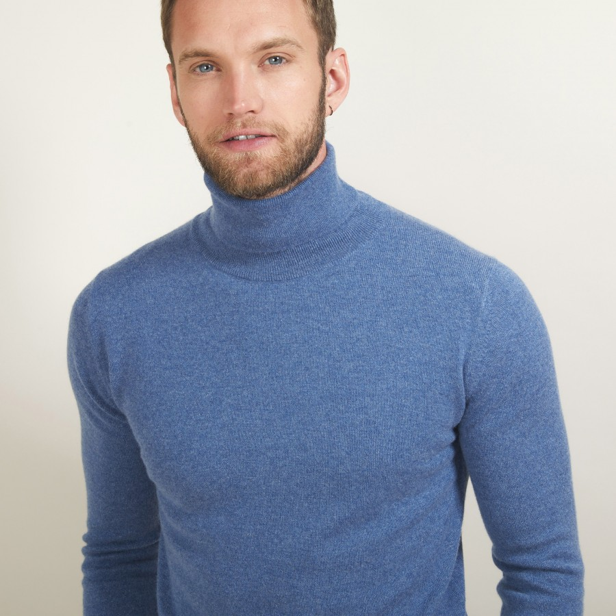 Cashmere turtleneck sweater - Bruno