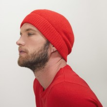 Bonnet en cachemire - Lalito 7080 dahlia - 52 Rouge