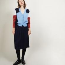 V-neck mohair cardigan - Flora