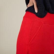 Jupe à poches en laine - Grazia