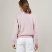 Cashmere sweater with high neck - Bassa