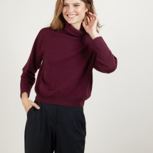 Cashmere hammer armholes sweater - Beverly
