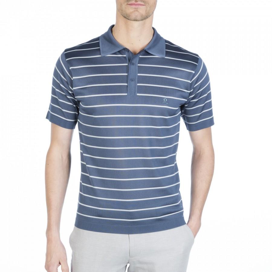 Fil Lumière man short sleeve polo shirt Fortunat