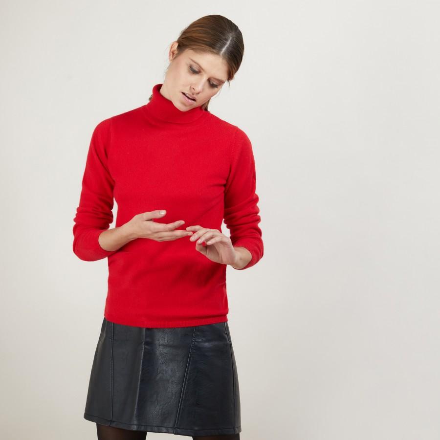 Cashmere turtleneck sweater - Bauhaus