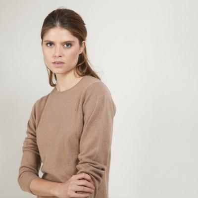 Round-neck cashmere sweater - Berline