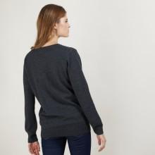 V-neck cashmere sweater BERTILLE