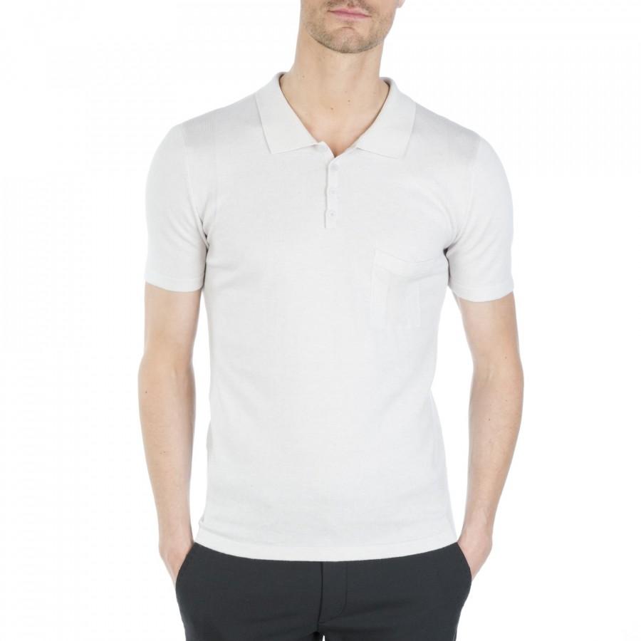 Man short sleeve polo shirt Flynn