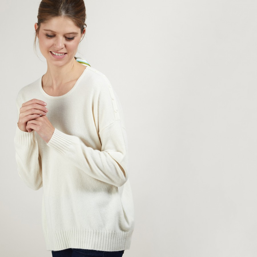 Oversized cashmere sweater BROOK