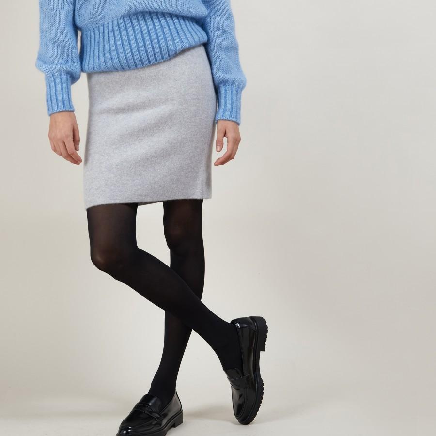 Short skirt 100% cashmere FRANCE