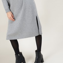 Long dress in recycled cashmere - Galate