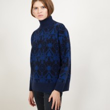 Cashmere funnel neck sweater - Garance