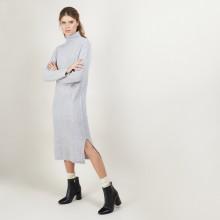 4-ply cashmere cable-knit dress - Gisele