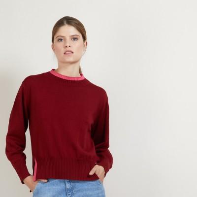Pull bicolore en laine - Gimmie