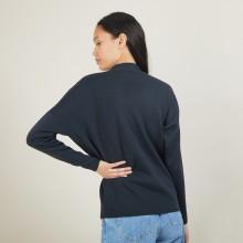 Pull en laine boutonné épaule - Gipsy