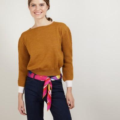 Pull court en laine - Fanfan