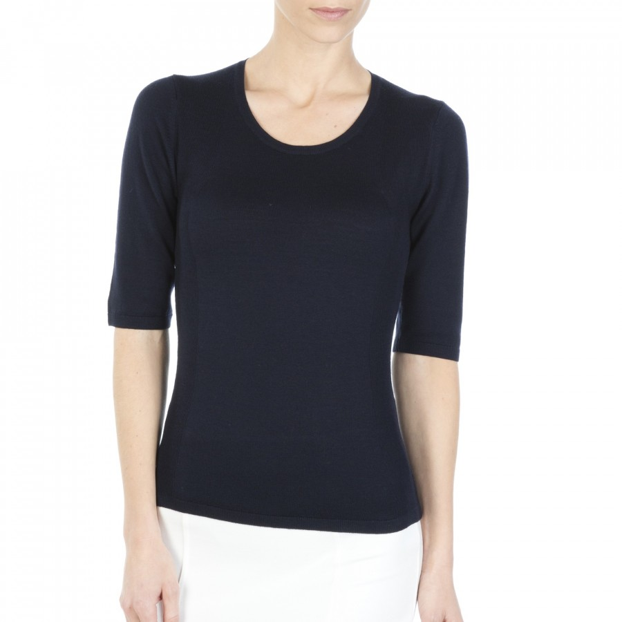 Elbow sleeve T-shirt Félicia