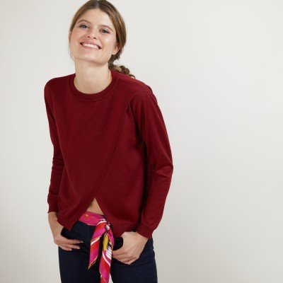 Double-breasted wool sweater - Fredi