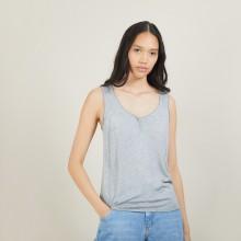Bamboo cashmere tank top - Bonnie