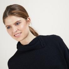 Buttoned high-neck sweater - Garry