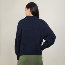 Zipped high-neck mohair sweater - Gilda