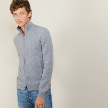 4-ply cashmere zipped jacket - Balthazar