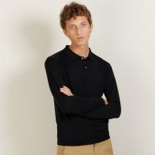 Wool and silk polo shirt - Bartev