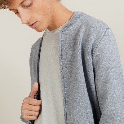 Cotton cashmere jacket - Lisbonne