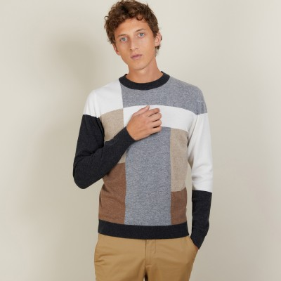 Geometric cashmere sweater - Lima