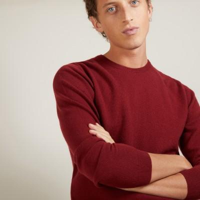 Round-neck cashmere sweater - Benoit
