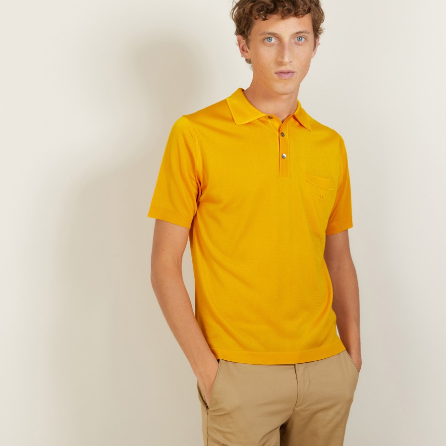 Polo shirt made of Fil lumière Vadim