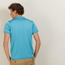 Polo en Fil Lumière à flèches - Billy 5333 nerifer - 49 Turquoise