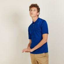 Polo en Fil Lumière motifs losanges - Brett 2745 nuit - 75 Bleu nuit