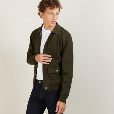 Wool jacket with pockets - Leopol