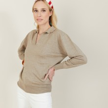 Bilbao Cashmere and linen sweater