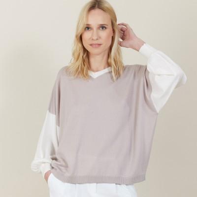 Loose-fit light cashmere sweater - Maya