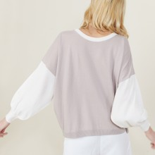 Maya-jersey knit sweater