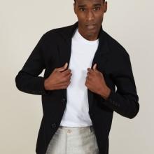 Blazer à poches en coton - Bacari 7210 noir - 01 Noir