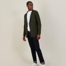 Blazer à poches en coton - Bacari 7212 fusain - 83 Kaki