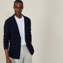 Cotton blazer with pockets - Bacari