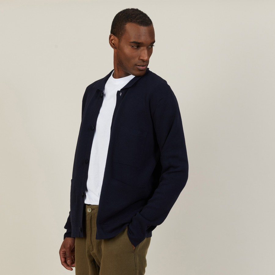 Dry cotton cardigan with pockets - Balto