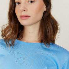Openwork Fil Lumière T-shirt - Alexia