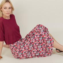 Floral viscose skirt - Nanou
