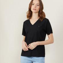 Fil Lumière V-neck T-shirt - Amy