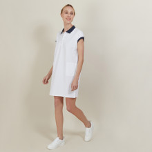 100% cotton short sleeve dress - Angy