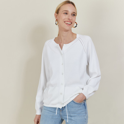 Vest with cotton cord - Aniss
