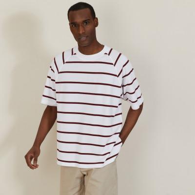 T-shirt en coton à rayures - Patrick