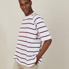 Striped cotton T-shirt - Patrick