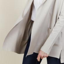 Wool and viscose cardigan - Agatha