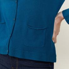 Wool and viscose cardigan - Athena